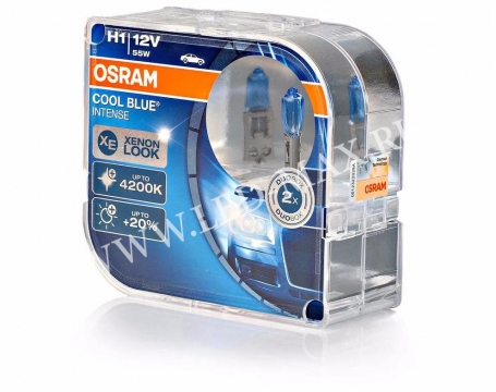 Автолампы H1 OSRAM COOL BLUE INTENSE 4200K